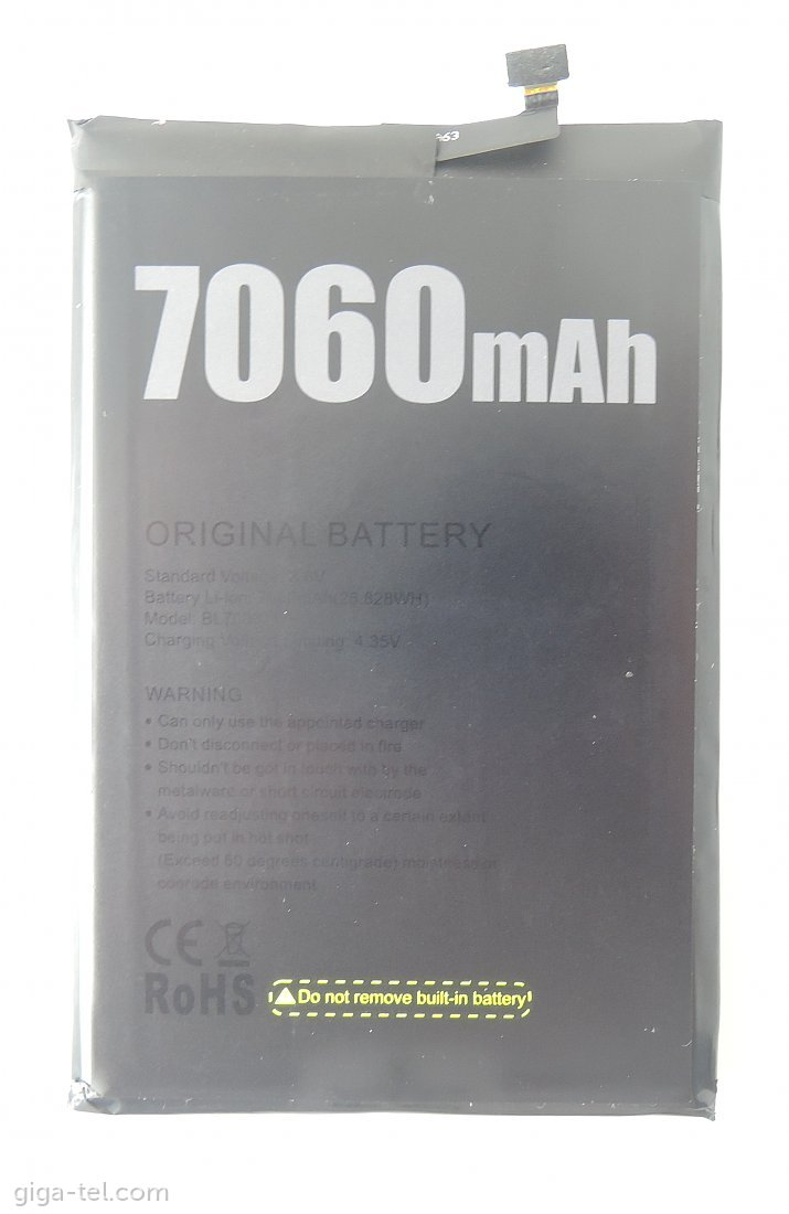 Doogee BL7000 battery