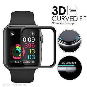 Apple Watch 38mm 3D tempered glass - full glue
