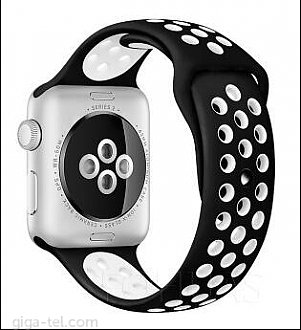 Apple watch 40/42mm strap SPORT black/white