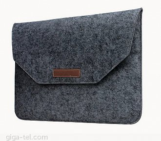 Felt Material Pouch Case for tablet to max. size 11.6 inch