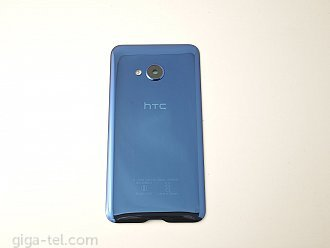 HTC U Play back cover blue