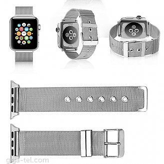 Apple watch 38mm stainless silver