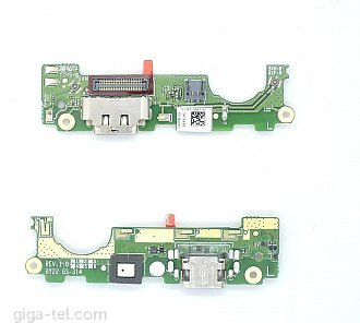 Sony Xperia XA2 Ultra charging connector with microphone