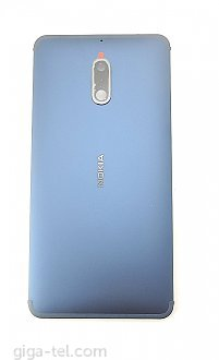 Nokia 6 2016 back cover with camera glass
