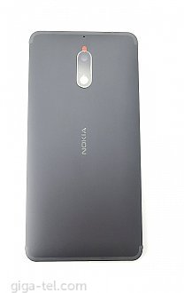 Nokia 6 back cover black