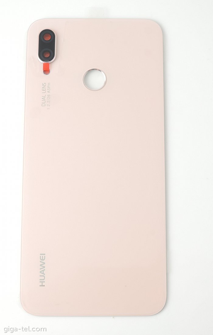 Huawei P20 Lite battery cover pink
