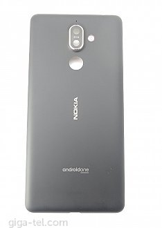 Nokia 7 Plus battery cover black