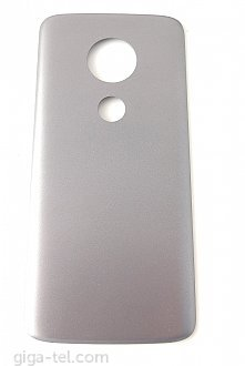 Motorola Moto E5 battery cover grey