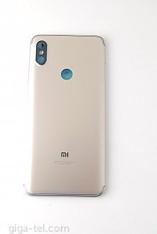 Xiaomi Redmi S2 battery cover gold - with camera glass