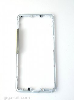 HTC U Ultra middle frame cover white