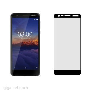 Nokia 3.1 2.5D tempered glass black
