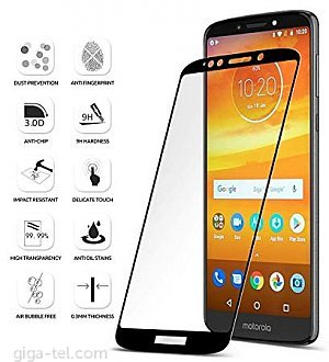 Motorola Moto E5 Plus 2.5D tempered glass black