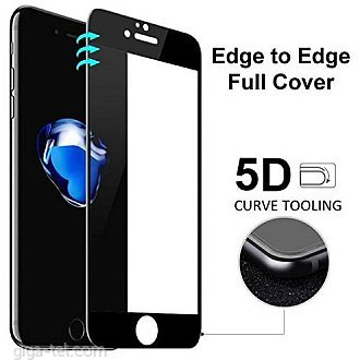 iPhone 6,6S 5D tempered glass black