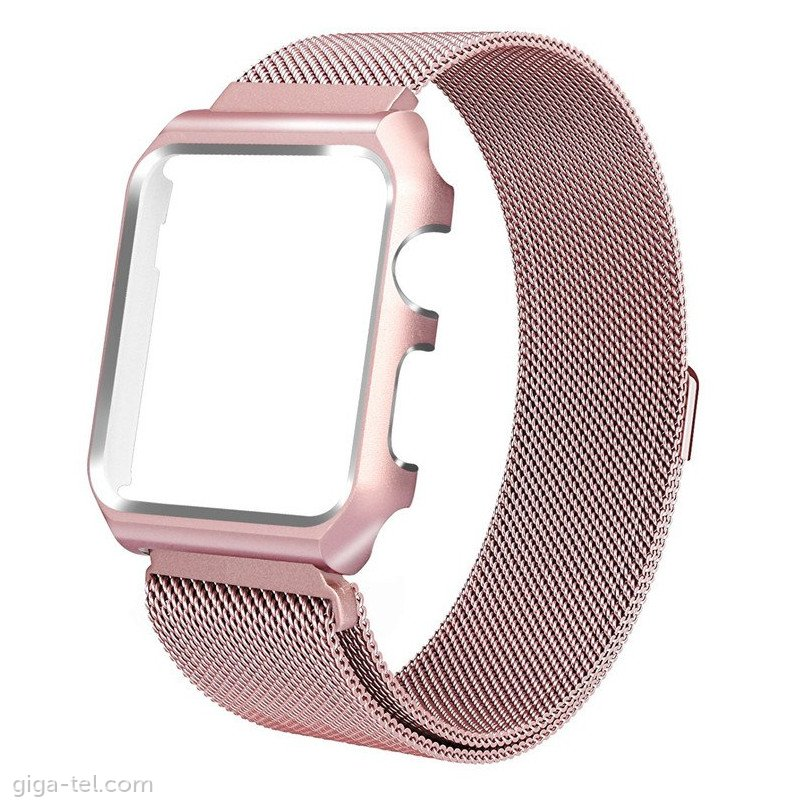 Apple Watch 44mm full magnetic strap rose