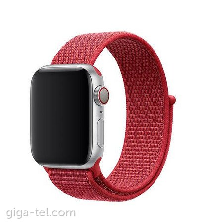 Apple Watch 38/40mm Nylon strap red