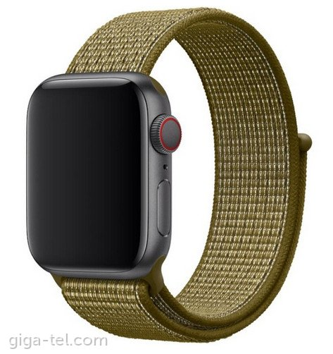 Apple Watch 42/44mm Nylon strap Khaki