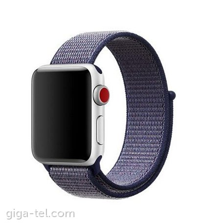 Apple Watch 38/40mm Nylon strap purple