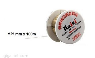 Cutting wire K-04 / 100m