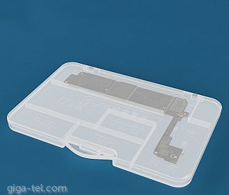 Plastic storage box for iphone board