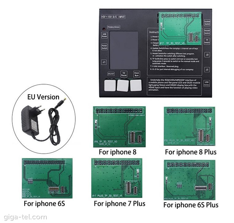 Universal Tester LCD/Touch for Iphone 6s-8+