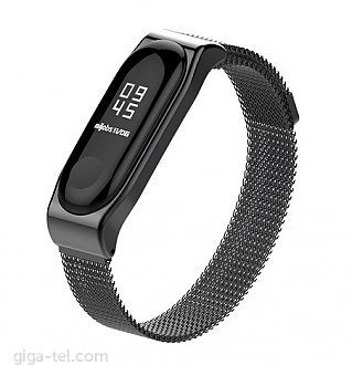 Xiaomi Mi Band 3 magnetic bracelet black