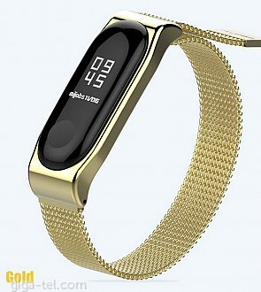 Xiaomi Mi Band 3 magnetic bracelet gold