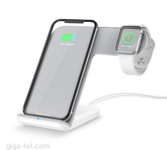 Wireless charger dock / Type-C / charging power: 10W,7.5W,5W; Watch 2W - Input:9V/1.67A or 5V/A