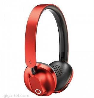 Baseus Encok wireless headphone red