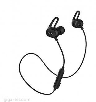 QCY E2 Bluetooth earphones black