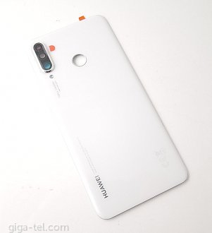 Huawei Pearl White cover without fingerprint flex - MAR-L01A, MAR-L21A, MAR-LX1A
