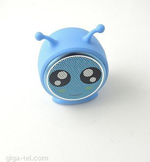 Excelent mini speaker - play time 3-4h, Bluetooth V4.2, 50mmx33mm, weight 70g,loudspeaker output 3W, battery 400mAh, micro USB charging / possible connect 2pcs as pair