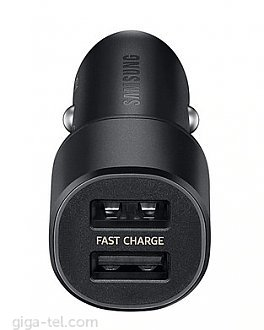Fast charger 9V - 1.67A / 5V - 2A /  Fast charging USB port output,  Charge two devices simultaneously,  Round LED blue light indicator.