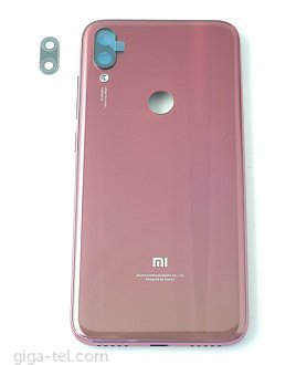 Xiaomi Play battery cover red