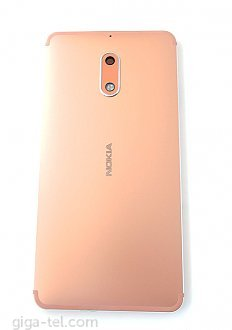 Nokia 6 battery cover copper