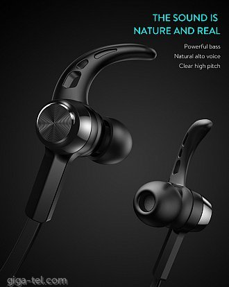 Baseus Encok magnet wireless headphone S06 black