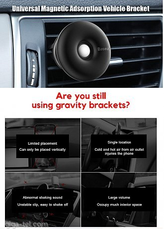 Baseus Star ring magnetic car air bracket