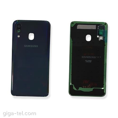 Samsung A405F battery cover black