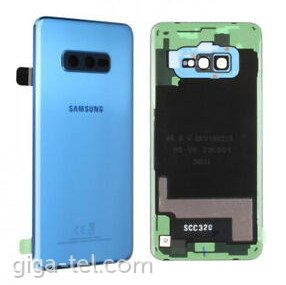 Samsung G970F battery cover blue