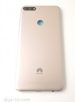 Huawei Y7 Prime 2018 back cover with cmaera glass