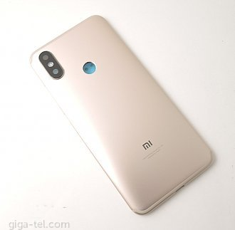 Xiaomi A2 battery cover gold