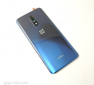 Oneplus 7 battery cover blue