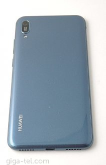 Huawei Y6 2019 battery cover blue