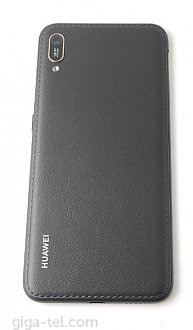 Huawei Y6 2019 battery cover black leather