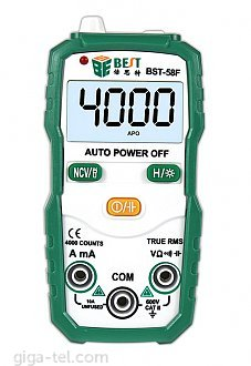 Three semi-digital multimeter