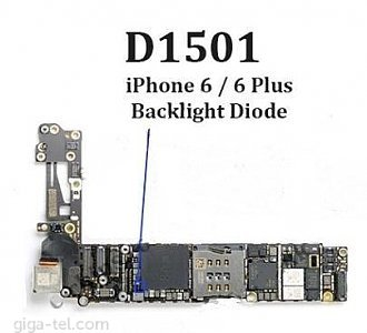 iPhone 6/6+ IC backlight D1501