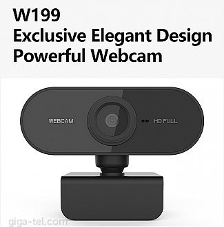 Excelent USB webcam with microphone / 920x1080 30fps / CE at section download