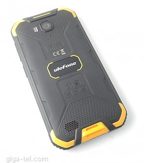Ulefone Armor X6 battery cover yellow