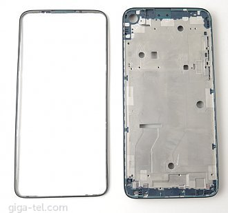 Motorola G8 Power LCD frame blue