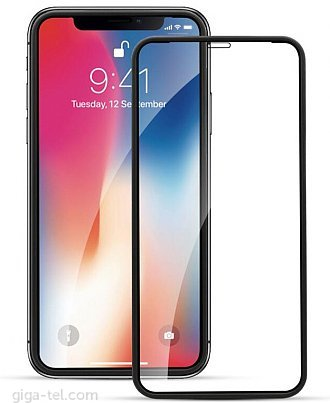 iPhone XR,iPhone 11 3D silicon Edge tempered glass