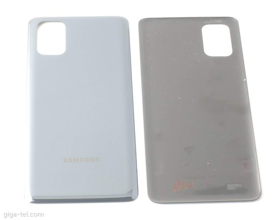 Samsung M515F battery cover black - without camera lens